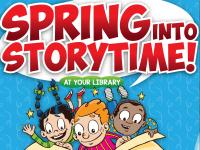 Spring Into Storytime 2019 Poster