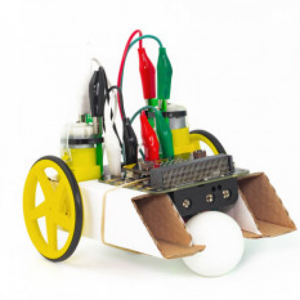 A Simple Robot power by a Micro-bit