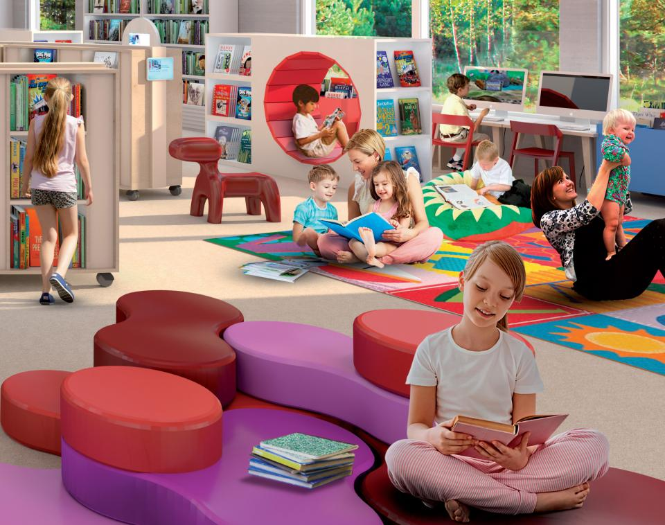 Children's Library - Homepage