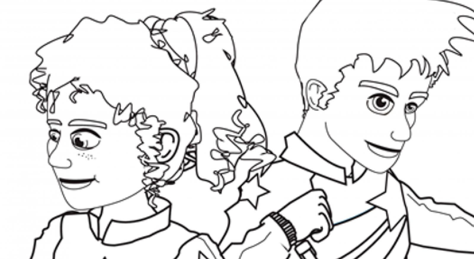 Image from Summer Stars colouring page